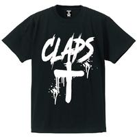 CLAPS CLOSS T-SHIRT  (BLACK)