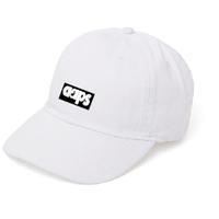 BASIC BOX LOGO CAP (WHITE)