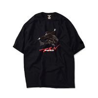 Ninja braiding TEE  ( BLACK)