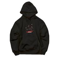Ninja braiding hoodie   ( black)