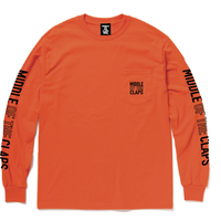 MOC POCKET L/S T-SHIRT (ORANGE)