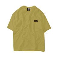 CLAPS ONE POINT BASIC LOGO TEE ( KHAKI)