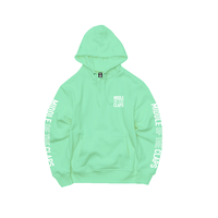 MOC OUT LINE   HOODIE   (MINT GREEN)