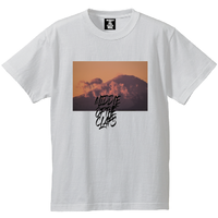 CLAPS Fight mountain T-SHIRT  (WHITE)