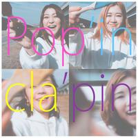 【Popin cla'pin】データ楽譜(クラリネット四重奏フルスコア+パート譜)