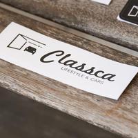 Classca ステッカー(大)【Classca Factory 限定販売】