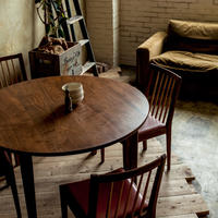 R15丸テーブル(ウォールナット)Φ1050