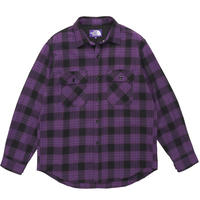 【SALE】2019FW. THE NORTH FACE PURPLE LABEL Twill Check Shirt/NT3958N /ツイルチェックシャツ