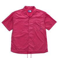 【SALE】2020SS. The North Face PURPLE Nylon Ripstop H/S Shirt/ザノースフェイスパープルレーベル リップストップ オープンカラーシャツ