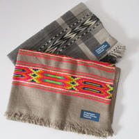 Himalayan Hand Woven Textile jaquaed Stole /ストール