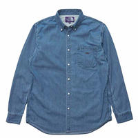 【SALE】2020SS. THE NORTH FACE PURPLE LABEL Light Denim B.D. Shirt /パープルレーベル ライト デニム B.D. シャツ