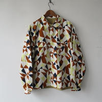 【30%OFF】2020-Fall/WINTER. Niche (ニッチ) Reversible Patterned Shirts Jacket / F20-igas-09