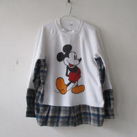 2020S/S. OLD PARK (オールドパーク) DOCKING SWEAT -MICKEY OP-372