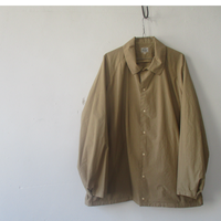 2020 Spring & Summer. GOLD(ゴールド) Cotton80 /Silk20 120/2 BROAD SNAP SHIRT /GL28295/ブロード シャツジャケット