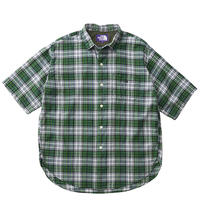 【30%Off】THE NORTH FACE PURPLE LABEL Madras Big H/S Shirt /NT3919N
