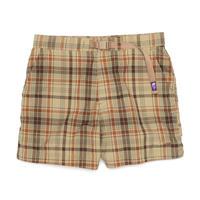 【SALE】2021SS. THE NORTH FACE PURPLE LABEL Madras Field Shorts/NT4101N/パープルレーベル マドラス フィールド ショーツ