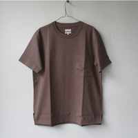 20 High Summer CURLY&co  CURLY(カーリー) AZTEC S/S POCKET TEE/ポケット付き Tシャツ