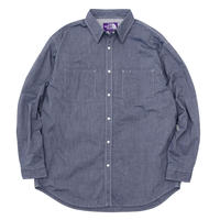 2021SS. THE NORTH FACE PURPLE LABEL Dungaree Denim Shirt/NT3104N/パープルレーベル デニム ダンガリー シャツ