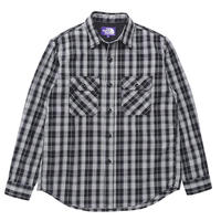 【40%Off】THE NORTH FACE PURPLE LABEL Twill Check Field Shirt  /NT3900N