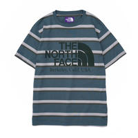 2020FW. The North Face PURPLE LABEL Striped H/S Logo Tee/NT3065N/ザノースフェイス パープルレーベル  ストライプ Tシャツ