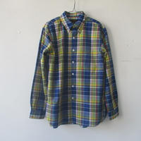 【SALE】2020-SS. A Vontage (アボンタージ) Weekend B.D Shirts -Roan Madras Check-VTD0321-SH/マドラスBDシャツ