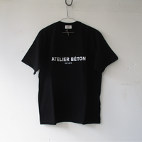 2020SS.  ATELIER BETON/アトリエベトン RUSTIC PRINT TEE /アトリエベトン ロゴ Tシャツ