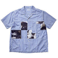 【SALE】2020SS. nanamica Open Collar H/S Shirt-SUGS077- N/ナナミカ オープンカラー シャツ ネイビー
