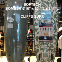"""SOFTECH ソフテック サーフボード BOMBER  5'10"""""""