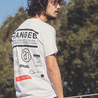 【ANGENEHM(アンゲネーム)】Back Symbol Print Big Tee(MADE IN JAPAN) Tシャツ