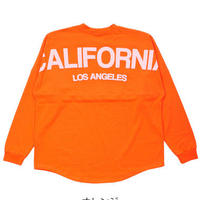 CALIFORNIAバックロゴ  フットボールロングスリーブ T-SHIRTS
