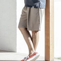 ANGENEHM(アンゲネーム)】Stretch Minimal Wide Shorts パンツ