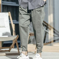 ANGENEHM(アンゲネーム)】Cotton Linen Tuck Wide Tapered Pants パンツ
