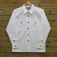 国内生産 カツラギ ワークシャツ