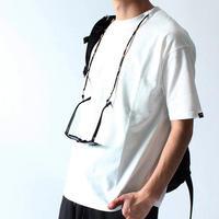 コーデュラナイロン無地サングラスホルダー付き半袖Tシャツ