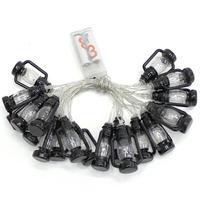 KEY STONE(キーストーン) LEDストリングライト ランタン20P ブラック
