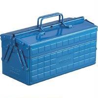 2段ツールボックス ブルー