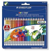 STAEDTLER ノリスクラブ 消せる色えんぴつ 24color