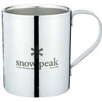 snow peak スノーピークロゴダブルマグ330