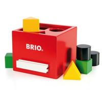 BRIO 形合わせボックス(レッド)