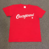オーバーグラウンド オリジナルTシャツ レッド