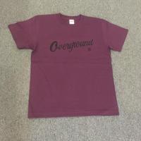 オーバーグラウンド オリジナルTシャツ マットパープル