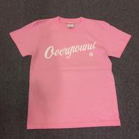 オーバーグラウンド オリジナルTシャツ ピンク