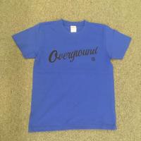 オーバーグラウンド オリジナルTシャツ ロイヤルブルー