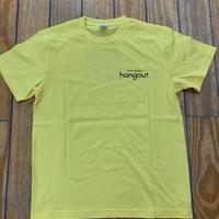 ハングアウト オリジナルTシャツ イエロー サイズM