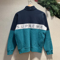 SUPREME / 2-Tone 3M Reflective Half Zip Sweat 2016S/S size:S