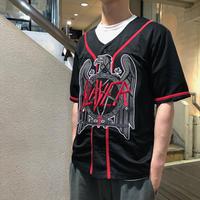 """90's Vintage Baseball Jersey """"SLAYER"""" size:M"""