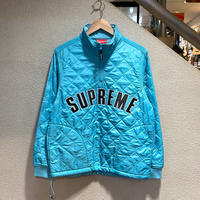SUPREME / Arc Logo Quilted Half Zip Pullover 2017S/S size:S