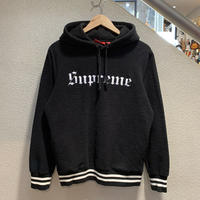 SUPREME / Reverse Fleece Hooded Sweatshirt 2016A/W size:S