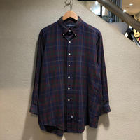 RALPH LAUREN / Plaid L/S Shirt size:XL