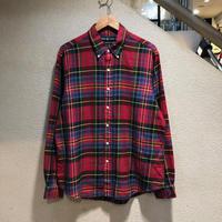 RALPH LAUREN / Plaid L/S Shirt size:XL